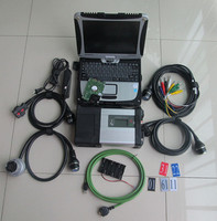 Top Quality mb star c5 sd connect 2020.6 program mb c5 +Military Notebook CF19 mb star sd c5 work with car truck