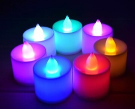 promotion 10pcs lot colorful led smokeless candles shaped smallpromotion 10pcs lot colorful led smokeless candles shaped small flashing night light 7 color change candle christmas decoration in night lights from lights