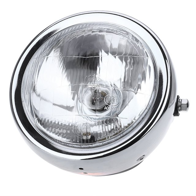 6-Inch High Power with 35W Clear Lens High Low Beam Motorcycle Headlight Head Lamp with Well designed for Harley Davidson