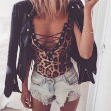 Women Lady Female Bodysuit Jumpsuit V Neckless Spaghetti Strap Sleeveless Lace Sunsuit Bodycon Summer Clothes(China)