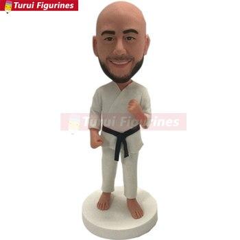 Karate Custom Bobblehead Karate Personalized Figurine Karate Birthday Cake Topper Karate Gifts Father Gift Husband Boyfriend Kar