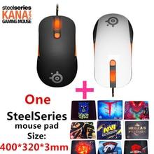 Envío gratis original V2 SteelSeries Kana ratón Optical Gaming Mouse y ratones Race Core Profesional Del Juego Del Ratón Óptico