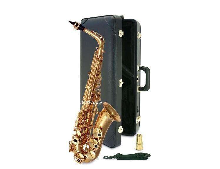 Professional E Flat Sax Alto Saxophone France Henri Selmer Alto Saxophone 802 Saxfone E Flat Musical Instruments & Hard boxs