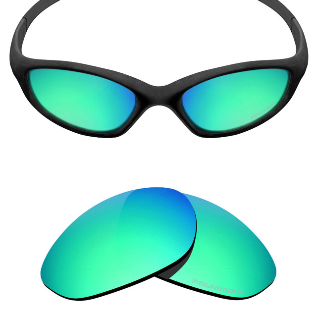 b7f28ad60ad Mryok+ POLARIZED Resist SeaWater Replacement Lenses for Oakley Minute 2.0  Sunglasses Emerald Green