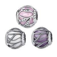 WOSTU Hot Sale 925 Sterling Silver Nature S Radiance Charm Beads Fit Original Pandora Bracelet Bangle