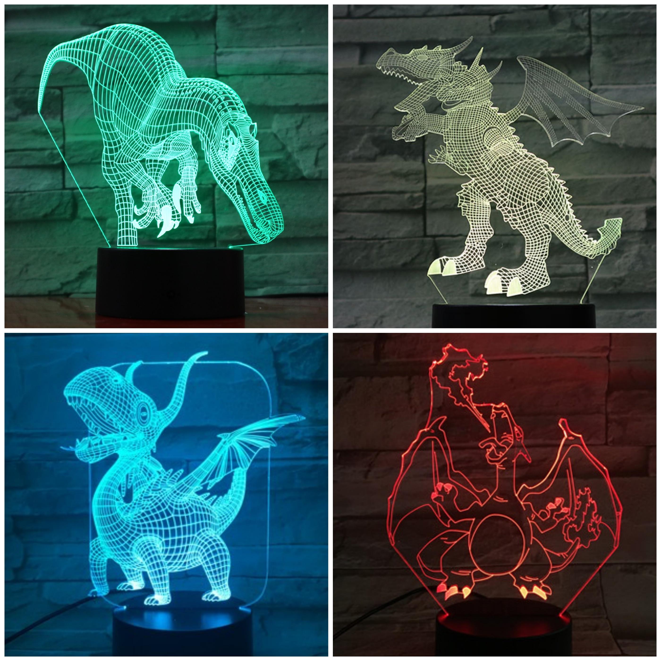 3d Illusion Lampada Gatto Led Night Light Con 7 Colori Lampeggiante E Touch Switch Usb Powered Camera Da Letto Lampada Da Tavolo Per I Bambini Regali Decorazione Della Casa Escuelasoulsurf Cl