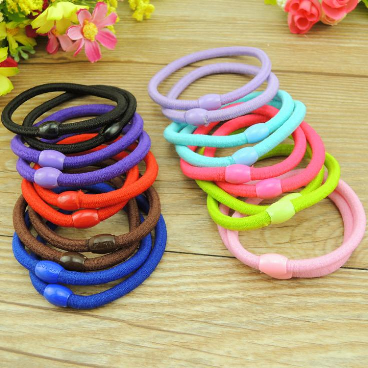 TS 20 Pcs New Korean Fashion Women Hair Accessories Cute Candy color Elastic Hair Bands Girl Hairband Hair Rope Gum Rubber Band 2016 sale new arrival headband korean flower cartoon girls elastic hair bands accessories rope ties princess gift 6 pcs