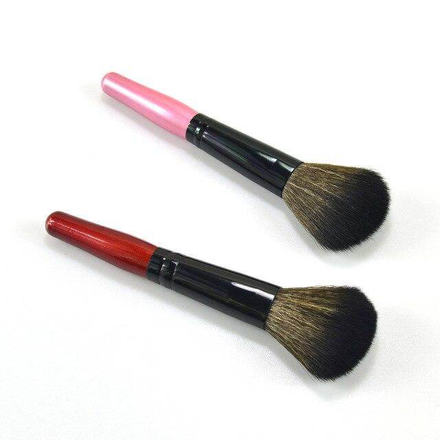 1 piezas cepillo de colorete maquillaje profesional de los cepillos conjunto Fundación polvo sombra de ojos pinceles de maquillaje cosméticos suave pelo sintético