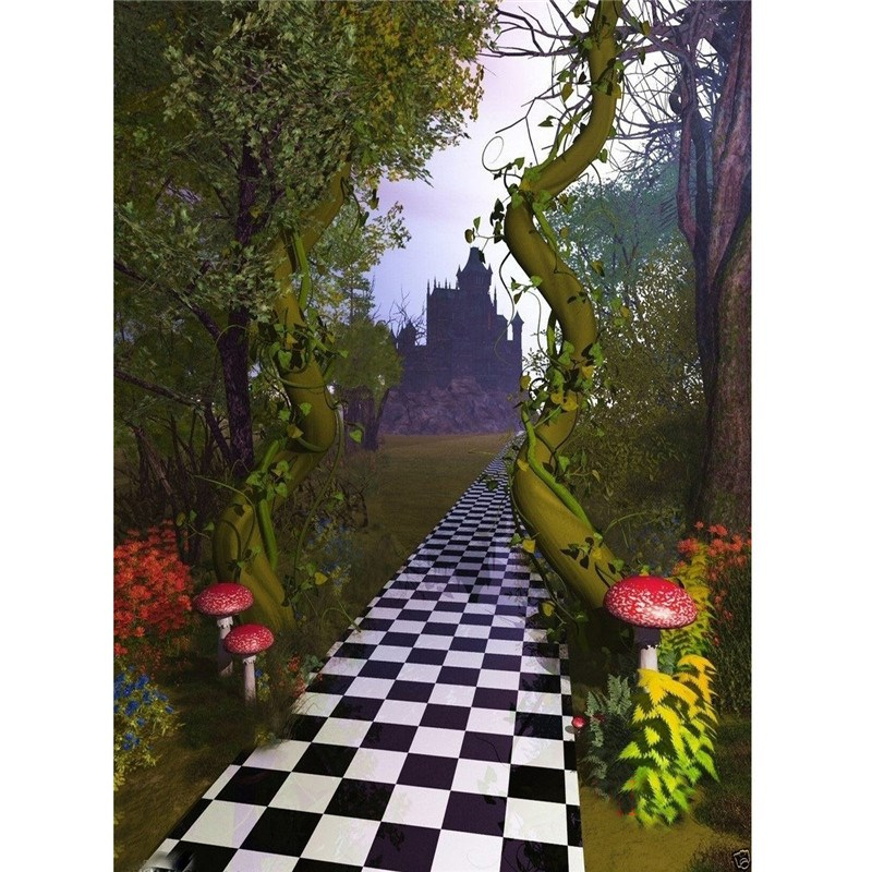 3x5ft Vinyl Fairy Tale Photography Background For Studio