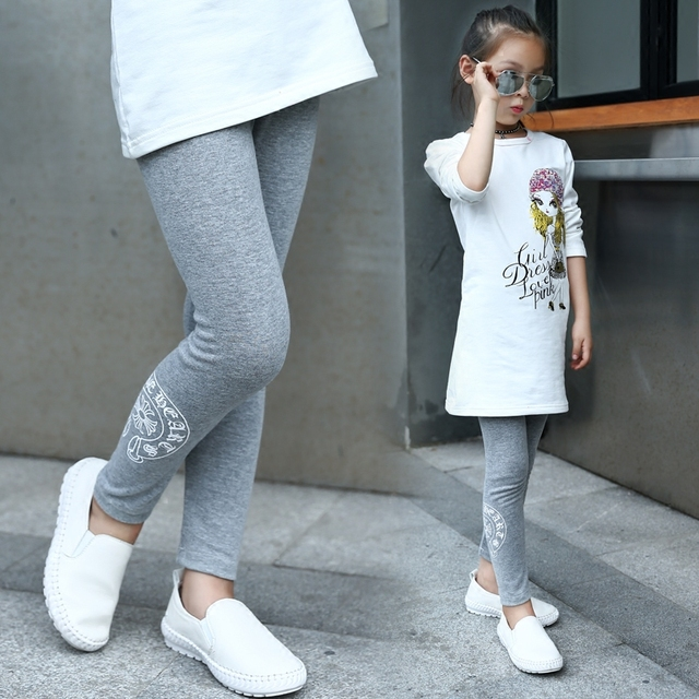 Baby Girls Leggings Winter Cotton Soft Keep Warm New Arrival High Quality Pants Leggings Kids Girls Printed Slim Leggings pants