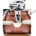 Frete grátis tapete tapete tapete do assoalho do carro de couro para toyota carolla E170 2013 2014 2015 2016 2017 ª geração