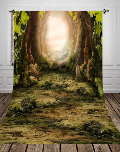 HUAYI 5x10ft Dreamwoods Backdrop Canvas Photography backdrops Prop photo Studio Newborn Background D-8270 shanny new year backdrop vinyl custom photography backdrops prop photo studio background xn281