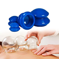4pcs silicone cupping therapy sets Non-plastic Home vacuum cupping chinese therapy Health Care Body massager
