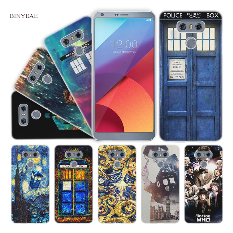 Smart Binyeae Doctor Who Hard Clear Case Cover For Lg Q6 G6 Mini G5 Se G4 G3 V10 V20 V30 Famous For Selected Materials Novel Designs Delightful Colors And Exquisite Workmanship