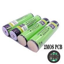 Литий-ионные перезаряжаемые батареи LiitoKala, 2018, 18650 мАч, 3400 в, защищенная печатная плата, фонарик 18650B18650 3,7, 1-10 шт., 3400 оригинал