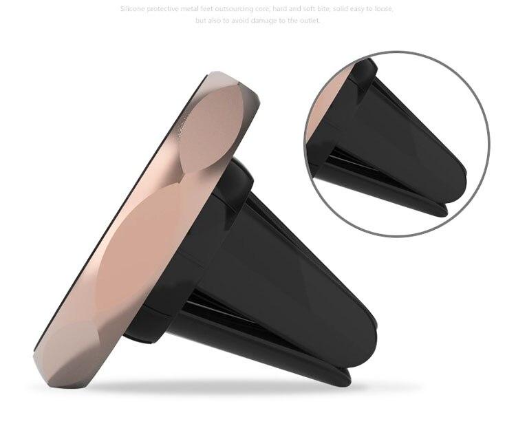 <font><b>Magnetic</b></font> Car Air vent Clip/<font><b>CD</b></font> Player/Car Rear-view Mirror Mobile <font><b>Phone</b></font> Car <font><b>Holders</b></font> For Galaxy Note8/J3 Emerge/J3 (2017)/Note7R