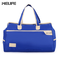MELIFE Large Capacity Nylon Gym Sports Bag Men Women Fitness Outdoor Waterproof Travel Handbag Training Exercise