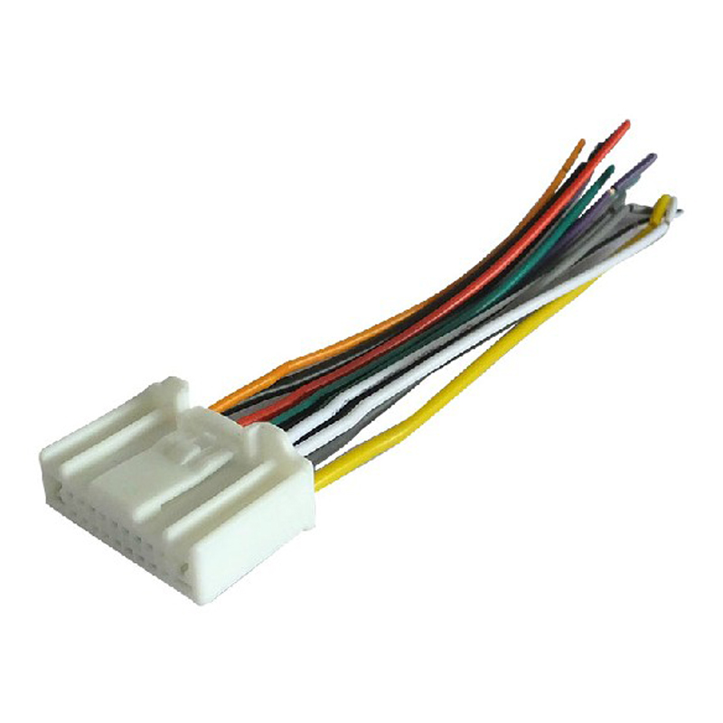 Car Radio Wiring Harness Cd Stereo Wire Antenna Adapter For Nissan Livina Tiidain Cables Adapters Sockets From Automobiles Motorcycles On: Nissan Livina Radio Wiring Diagram At Anocheocurrio.co