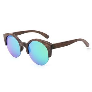 Image 4 - BerWer Marrone Colore di Bambù Occhiali Da Sole Da Uomo occhiali Da Sole di Legno Delle Donne di Marca di Occhiali In Legno Oculos de sol masculino