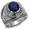 Stainless steel ring military enthusiasts collection act the role ofing is tasted of the United States navy