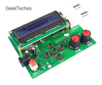 GeekTeches DDS Function Signal Generator Module Kit Sine Square Sawtooth Wave Green Board