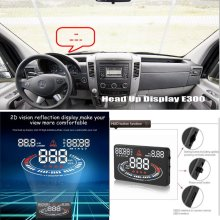 Liislee Car HUD Head Up Display For Mercedes Benz Sprinter - Reflect to windshield cars head up display screen projector