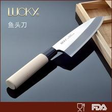 Deutschland importierten stahl 165mm küchenmesser küchenutensilien klinge geschnitten fisch kopf/sushi messer klinge fisch/boning/fleisch messer heißer