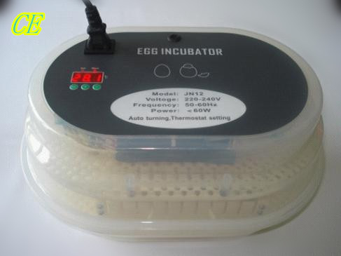 Best Selling New Digital Automatic Egg Turning Incubators 12 Egg Hatcher brooder poultry Chicken Egg Incubator poultry chicken egg incubator hatcher 48 automatic mini parrot egg incubators hatcher hatching machines