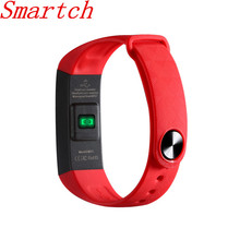Smartch M2S Smart Браслет Bluetooth 4.0 Смарт пульсометр крови Давление измеритель пульса фитнес-трекер PK ID107