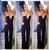 Mulheres Jumpers e Macacão sensuais Mulheres Elegantes Macacão Bodysuit Sólida Sem Mangas Tripulação Pescoço Longo Playsuits Casuais Plus Size
