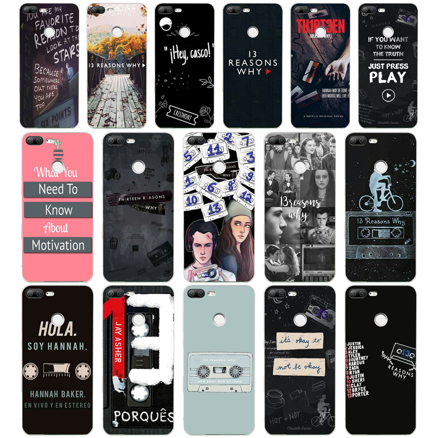 5WE <font><b>13</b></font> <font><b>reasons</b></font> <font><b>why</b></font> quote Soft Silicone Tpu Cover <font><b>phone</b></font> <font><b>Case</b></font> for huawei Honor 8 9 10 Lite 8X p 8 9 lite 2017 image