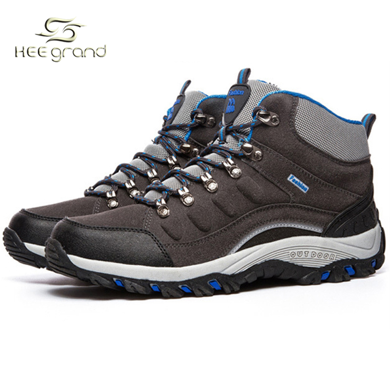 2016 New Outdoor Unisex Hiking Shoes High-Top Skidproof  Warm Lining Men's Relaxed Fits Sneakers Women Sport Shoes XYD077 от Aliexpress INT