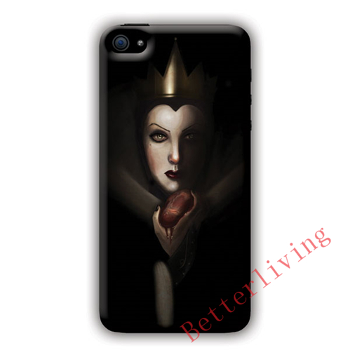 Sleeping Beauty Evil Queen fashion cell phone case cover for iphone iphone 4 4s 5 5s 5c SE 6 6s plus 7 plus #X710