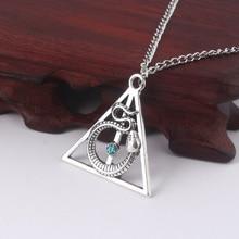 Owl Men Necklaces Jewelry Sort-Hat Locket Deathly Hallows Time Turner Horcrux Snake Diadem