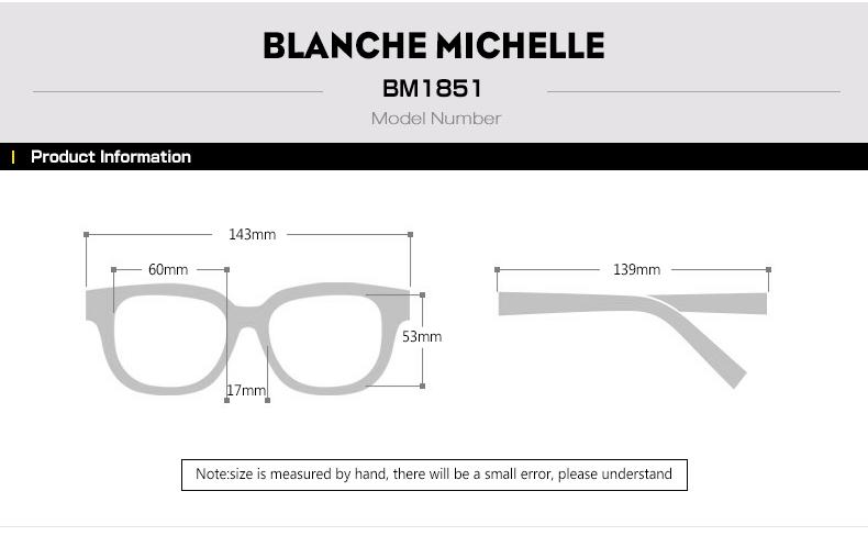 HTB1xE5XbfxNTKJjy0Fjq6x6yVXaY - Blanche Michelle 2018 High Quality Square Polarized Sunglasses Women Brand Designer UV400 Sun Glasses Gradient Sunglass With Box