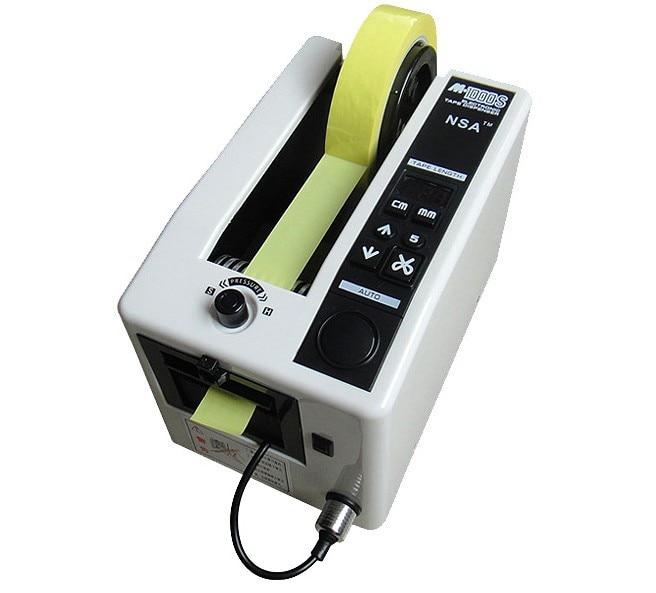 Haute qualité AC 220 v NSA marque M-1000S Automatique Dévidoir De Ruban/Coupe-Ruban Automatique, auto bande de distribution machine largeur 4-50mm