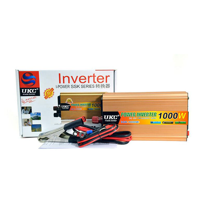 Auto Power inverter 1000 Watt <font><b>12</b></font> V <font><b>220</b></font> V <font><b>DC</b></font> <font><b>12</b></font> v AC <font><b>220</b></font> v bordnetz schalter on-board-ladegerät Inverter-adapter-konverter image