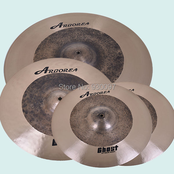 Raw drum cymbal, 100% handmade Ghost  CYMBAL set