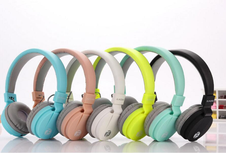 Fashion Cute Earphones headphone headset Candy Color Children Foldable Earphone with Microphone zuczug hot birthday gifts cute headphones candy color foldable kids headset earphone for mp3 smartphone girl children pc laptop