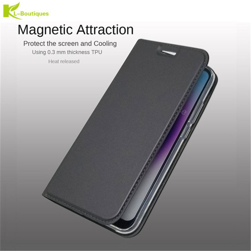 J8 2018 Leather Case on For Samsung Galaxy J8 2018 Cover Luxury Retro Flip Wallet Case for Fundas Samsung J8 2018 J800F Coque