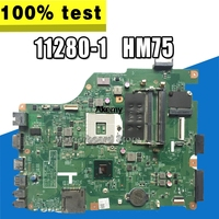 11280 1 for dell 3520 DV15 MLK MB 11280 1 PWB:MXRD2 REV:A00 laptop motherboard FOR DELL INSPIRON 3520 HM75 Test