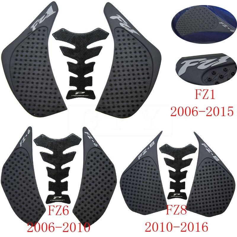 For Yamaha FZ1 FZ-1N FZ1N FZ1S FZ 1S 06-16 2017 2018 2019  FZ6 FZ6N 06-10 FZ8 N/S FZ8N 10-16 FZ1 Anti Slip Tank Pad Stickers