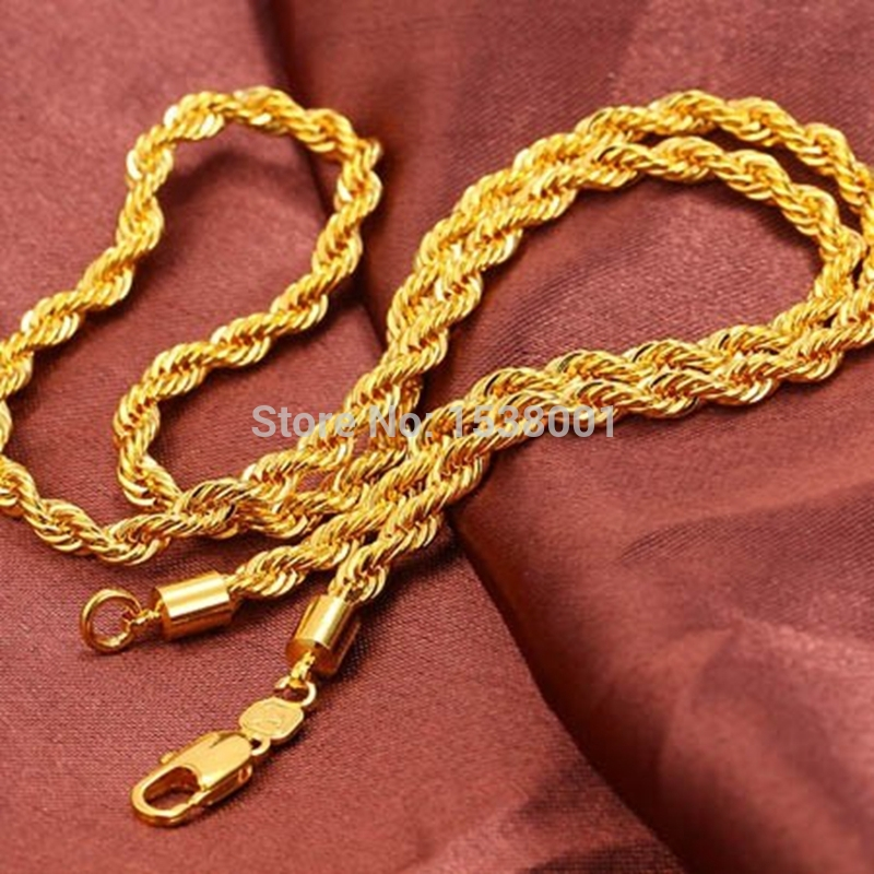 listing chain rope gilt twisted necklace brushed miriam chains gold il haskell