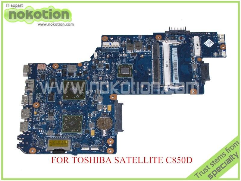 NOKOTION for  toshiba satellite C850D 15.6 laptop motherboard HD 6470M ddr3 PLABXCSABX UMA  MainboardNOKOTION for  toshiba satellite C850D 15.6 laptop motherboard HD 6470M ddr3 PLABXCSABX UMA  Mainboard