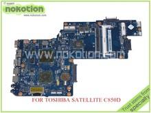 NOKOTION para toshiba satellite C850D 15.6 ''laptop motherboard HD 6470 M ddr3 PLABXCSABX UMA Mainboard