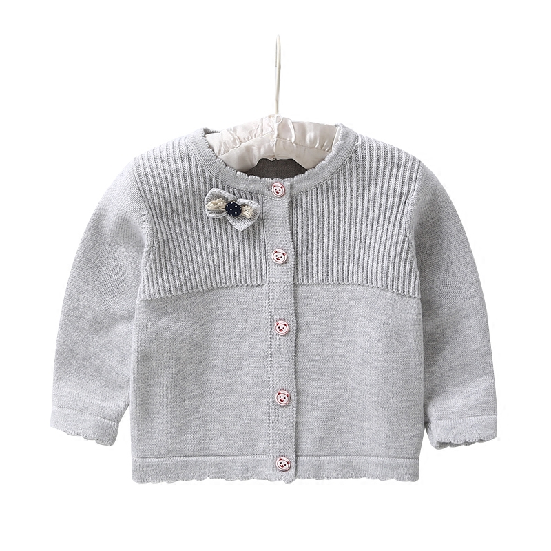 2018 baby girl Cardigan Children sweater coat kids Knitted Sweater girl clothing spring autumn Cardigan clothes 2018 new autumn winter baby girl sweater casual style girl cotton cardigan long sleeve o neck solid bow pattern children sweater