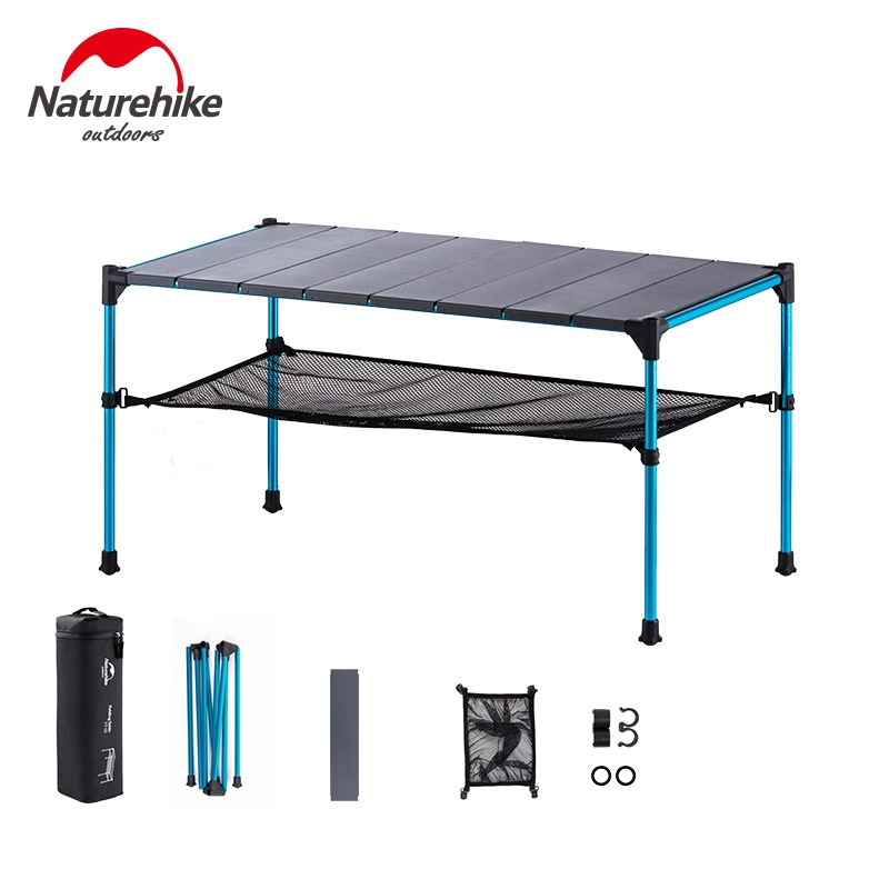 Naturehike Portable Foldable Free Splicing Folding Table Desk for Outdoor Camping Picnic Aluminium Alloy