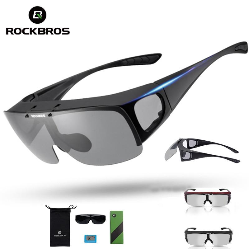 TOPEAK Polarized Photochromatic Sports Cycling Glasses Goggles Sunglasse Gray