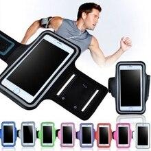 100 шт./лот повязки повязку пояса крышка Бег спортивная сумка чехол для Apple iPhone 6 6S 7 6 Plus 7 плюс 8