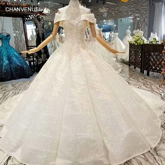 Shiny Wedding Dresses